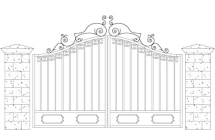Ornamental Gate Designs